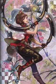 """"""" Dynasty Warriors 8 - Sun Shangxiang, artwork """""""