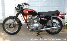 1973 Triumph Trident 1973 was a watershed year for the Trident with a long-awaited front disk brake and 5-speed gearbox.