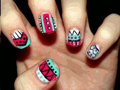 Get on my nails now..