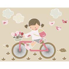 girl on bike