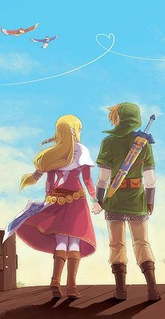 The Legend of Zelda ~ Skyward Sword ~ Legend of Zelda Fan Art