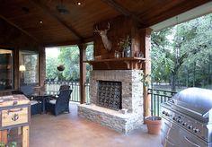 back porches | back porch | Lake Texoma Real Estate