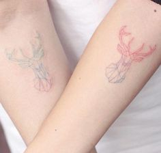 Couple Design Tattoo Small