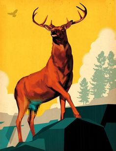 Illustrator Tavis Coburn: Making the Old New Again   Create