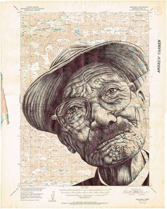 The drawings of Mark Powell