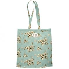 Katie Alice Green Cottage Flower Book Bag