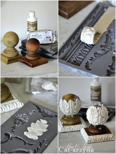 Cat-arzyna: 2017 Source by bNLbryant Cat-arzyna: This & That Diy Clay molded wooden appliqués for any refurbished project! Did craft 2017 Discover thousands of images about Use plaster of Paris Diy Clay, Clay Crafts, Crafts To Make, Kids Crafts, Diy Plaster, Plaster Crafts, Plaster Molds, Decoupage, Plaster Of Paris