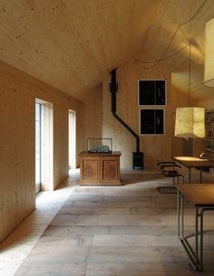 Hugh Strange Architects slots architectural archive inside old farmyard barn
