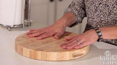 Handige tip tegen een glijdende broodplank