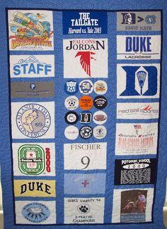 tshirt+quilt   Home Custom Quilts Quilt Restorations T-Shirt Quilts Contact Us