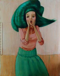 great paintings by Portuguese visual artist Hugo Travanca.