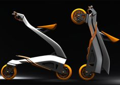 Zoomla folding bike by Eric Stoddard of SpeedStudio Design