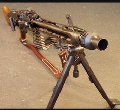 my dream gun.anyone out there accept a kidney as payment? Ww2 Weapons, Military Weapons, Rifles, Light Machine Gun, Machine Guns, Mg34, Fire Powers, Cool Guns, Assault Rifle
