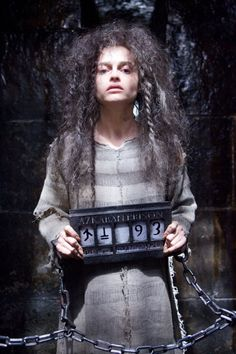 "Helena Bonham Carter en ""Harry Potter y La Orden del Fénix"" (Harry Potter and the Order of the Phoenix), 2007"
