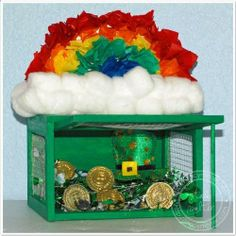 St. Patricks Day Kids Craft: Leprechaun Trap