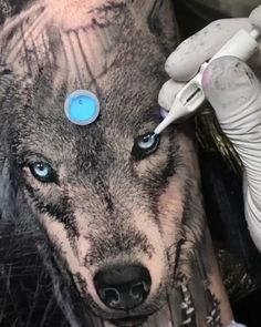 The Wolf, awesome tattoo artworkdone by © Gabriele Pellerone Tattoo, Milan | Italy