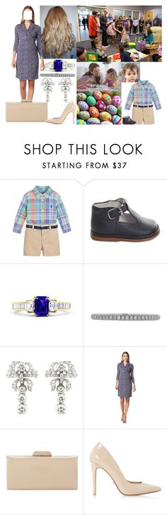 """""""Decorating Easter eggs with patients at University Children's Hospital with David"""" by josephineofbaden ❤ liked on Polyvore featuring Ralph Lauren, Lucie Campbell, ESPRIT and Dune"""