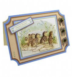 Jayne Netley Mayhew Spring Decoupage - Card 1