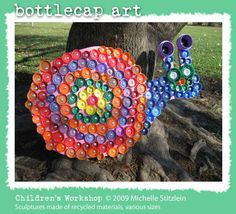 bottle cap art