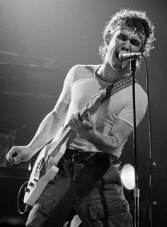 Jimmy Barnes (Barnesy) Cold Chisel [Lead vocalist, guitarist]