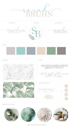 Brand Identity by Always In Bluhm Designs   a design studio specializing in crafting contemporary logos, visual branding for small businesses & lovely blogs for creative professionals.  http://www.alwaysinbluhm.com/