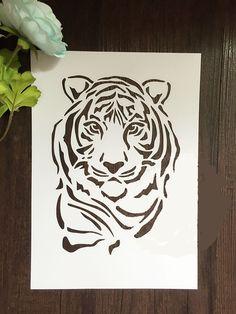 Shop Laser Stencil Cutting – Great deals on Laser Stencil Cutting on AliExpress page 11 Stencil Art, Stencil Painting, Drawing Stencils, Art Drawings, Drawings, Wood Art, Animal Stencil, Origami Paper Art, Art