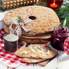 Recept på Julens godaste knäckebröd från - Hemmets Journal