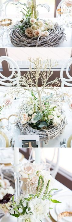 Woodland Forest Themed Wedding Style