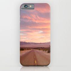 """Mojave Road"" iPhone & iPod Case, Photography, Desert, USA"