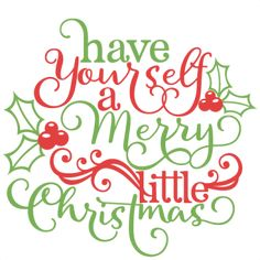 Christmas Phrase: Miss Kate Cuttables-- scrapbook cut file cute clipart files for silhouette cricut pazzles free svgs free svg cuts cute cut files