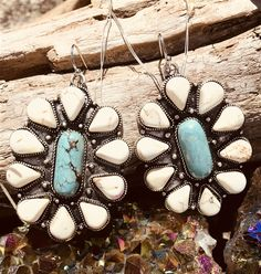 Southern Fried Chics is the fastest growing online boutique. With southern inspired clothing as well as our very own Southern Fried Chics Collection. Buy Earrings, Turquoise Earrings, Silver Earrings, Silver Jewelry, Expensive Jewelry, Designer Earrings, Fine Jewelry, Jewelry Box, Mommy Jewelry