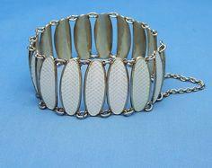 David Andersen Sterling Enamel Bracelet by VintagePlusJewelry