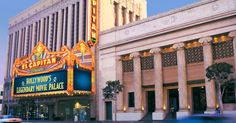 Step into Hollywood's glittering past and be treated to an unparalleled movie-going experience at the legendary El Capitan Theatre.