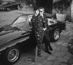 Peggy Moffit and Steve MacQueen by William Claxton