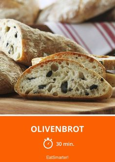 Olivenbrot - smarter - Zeit: 30 Min. | eatsmarter.de