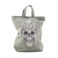 Inspired by the Victoria & Albert Museum's Skull - designed by the fashion house Alexander McQueen. A canvas bag sporting the V & A's Skull - http://www.vandashop.com/The-Skull-Premium-Tote-Bag/dp/B00TYH6U9K