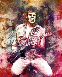 Neil Young by RockChromatic