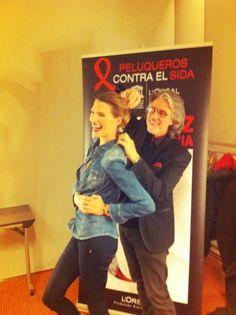 Un paseo con Laura Sanchez » Gala contra el sida
