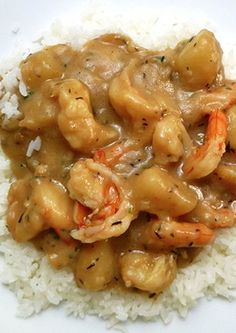 Emeril's Cajun Shrimp Stew. I actually did this the other night and it was the best shrimp stew I ever had. Awesome!
