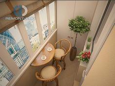 Балкон в стиле дизайна  по адресу г.Москва, ул.Череповецкая, д.4  фото