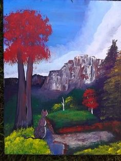 20 x 16 $50 original on canvas
