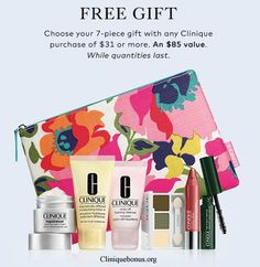 Choose your next Clinique gift from The Bay. http://cliniquebonus.org/clinique-bonus-time