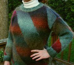 Ravelry: Diagonal Stripe Pullover pattern by Norah Gaughan