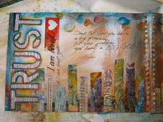 visual blessings: A New Year, A New Journal Step-by-Step