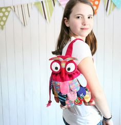 Send her off to school with a new best friend. #etsy #etsykids