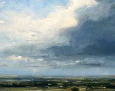 Zarina Stewart-Clark - Inkpen from Combe, Oil on Board