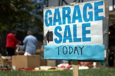 Garage Sale Tips- Nooks and Crannies Organizing