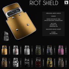 Riot Shield Gacha Discount