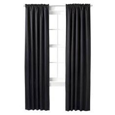 Room Essentials™ Thermal Light Blocking Curtain Panel Pair : Target