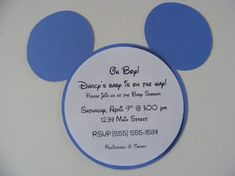 The remarkable The Ethics Of Mickey Mouse Baby Shower Invitations Designs Unique Ideas For Mickey Mouse Baby Shower Invitations Modern Designs Toy Story Invitations, Mickey Mouse Invitation, Invitation Design, Invitation Ideas, Invitation Templates, Invitation Wording, Mickey Mouse Baby Shower, Mickey Mouse 1st Birthday, Baby Mouse